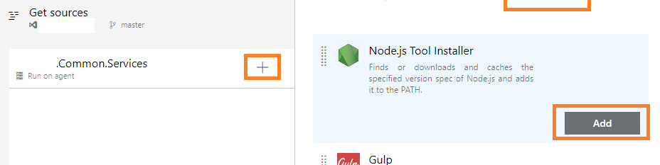 Azure DevOps Pipeline Build - add node installer